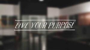 Lo scopo è essenziale per vivere